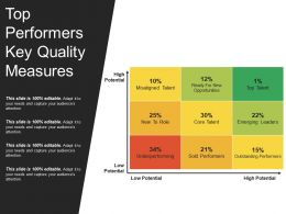 Top Performers Key Quality Measures Ppt Images