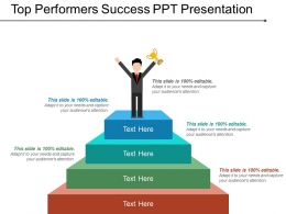 Top Performers Success Ppt Presentation