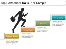 Top Performers Traits Ppt Sample
