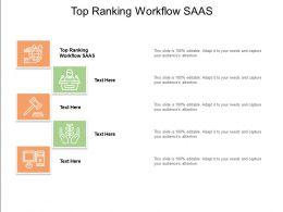 Top Ranking Workflow Saas Ppt Powerpoint Presentation Ideas Show Cpb