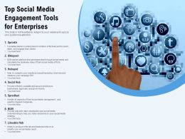 Top Social Media Engagement Tools For Enterprises