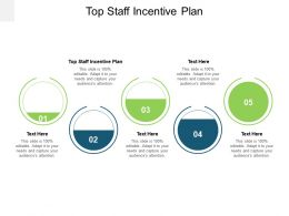Top Staff Incentive Plan Ppt Powerpoint Presentation Model Graphics Pictures Cpb