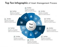 Top Ten Of Asset Management Process Infographic Template