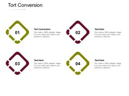 Tort Conversion Ppt Powerpoint Presentation File Show Cpb