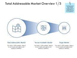Total Addressable Market Overview Focus Ppt Powerpoint Presentation Graphic Tips
