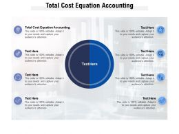 Total Cost Equation Accounting Ppt Powerpoint Presentation Icon Layout Cpb
