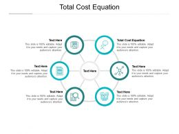 Total Cost Equation Ppt Powerpoint Presentation Layouts Sample Cpb