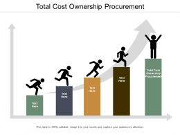 Total Cost Ownership Procurement Ppt Powerpoint Presentation Ideas Graphics Tutorials Cpb