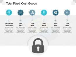 Total Fixed Cost Goods Ppt Powerpoint Presentation Summary Example Cpb
