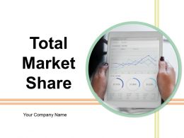 Total Market Share Powerpoint Presentation Slides