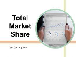 Total Market Share Powerpoint Presentation Slides