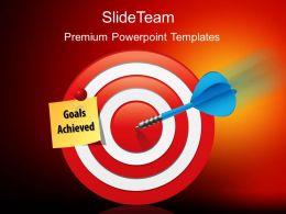 Total Marketing Concepts Powerpoint Templates Goals Achieved Success Ppt Slides
