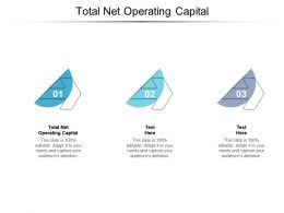 Total Net Operating Capital Ppt Powerpoint Presentation Slides Microsoft Cpb
