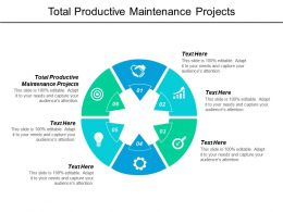 Total Productive Maintenance Projects Ppt Powerpoint Presentationmodel Brochure Cpb