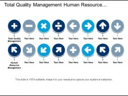Total Quality Management Human Resource Management Venture Capital Cpb
