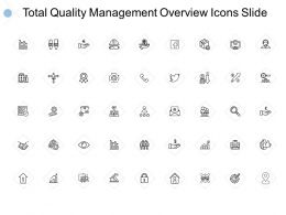 Total Quality Management Overview Icons Slide Growth Opportunity E198 Ppt Powerpoint Slides