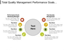 Total Quality Management Performance Goals Marketing Manager Pugh Matrix Cpb