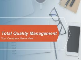 Total Quality Management Powerpoint Presentation Slide