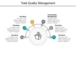 Total Quality Management Ppt Powerpoint Presentation Outline Slide Portrait Cpb