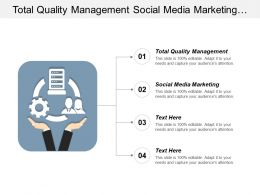 Total Quality Management Social Media Marketing Business Development Cpb