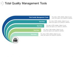 Total Quality Management Tools Ppt Powerpoint Presentation Layouts Cpb