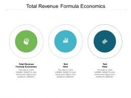 Total Revenue Formula Economics Ppt Powerpoint Presentation Show Cpb