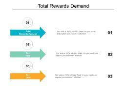 Total Rewards Demand Ppt Powerpoint Presentation Portfolio Clipart Images Cpb