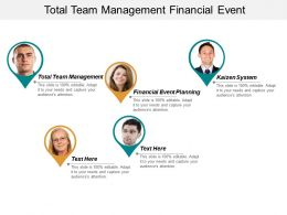 Total Team Management Financial Event Planning Kaizen System Cpb