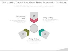 Total Working Capital Powerpoint Slides Presentation Guidelines
