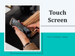 Touch Screen Experience Electronic Applications Developer Programme Interface