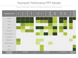 Touchpoint Performance Ppt Sample