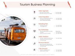 Tourism Business Planning Hotel Management Industry Ppt Brochure