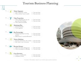 Tourism Business Planning With Visitors Ppt Powerpoint Presentation Inspiration Skills