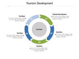 Tourism Development Ppt Powerpoint Presentation Pictures Templates Cpb