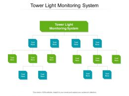Tower Light Monitoring System Ppt Powerpoint Presentation Show Professional Cpb