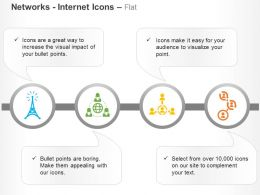 Tower Social Network Client Relation Networking Ppt Icons Graphics
