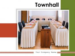 Townhall Executive Conference Government Presentation