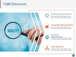 Tqm Elements Powerpoint Slide Inspiration