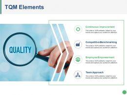 Tqm Elements Powerpoint Slide Show