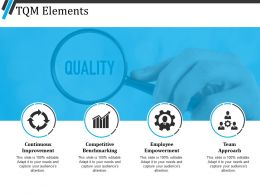Tqm Elements Ppt Sample File