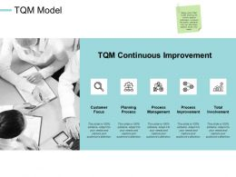 TQM Model Involvement Process E208 Ppt Powerpoint Presentation File Objects