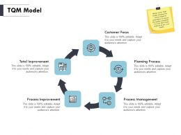 TQM Model Management Ppt Powerpoint Presentation Pictures Styles
