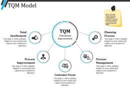 Tqm Model Ppt Diagrams