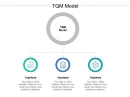 TQM Model Ppt Powerpoint Presentation File Themes Cpb