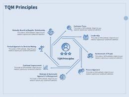 TQM Principles Customer Focus Ppt Powerpoint Presentation Portfolio Visual Aids