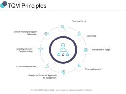 TQM Principles Leadership Ppt Powerpoint Presentation File Guidelines