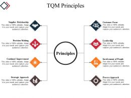 Tqm Principles Powerpoint Slide Background Picture