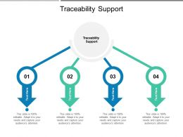 Traceability Support Ppt Powerpoint Presentation File Example Cpb