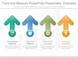 Track And Measure Powerpoint Presentation Examples