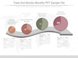 Track And Monitor Benefits Ppt Sample File